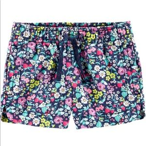 3/$25 NWOT Carter's Floral Twill Shorts